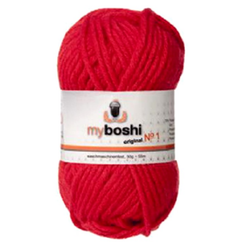 Red 132 - Wool Balls 50g For DMC Myboshi Beanie Hats